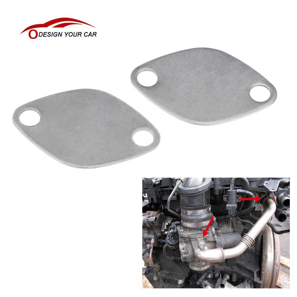 AGR Ventil Block Platte Peugeot 2.0 HDI 307 308 407 3008 5008 607