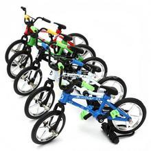 Mini Bike Bicycle Toys Set Fuctional Finger Mountain Bike BMX Fixie Bicycle Boy Toy Random Color #45(China (Mainland))