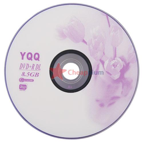 CheapNium Super 1Pcs New 8X Blank Recordable Printable DVD+R DVDR Blank Disc Disk 8X Media 8.5GB(China (Mainland))