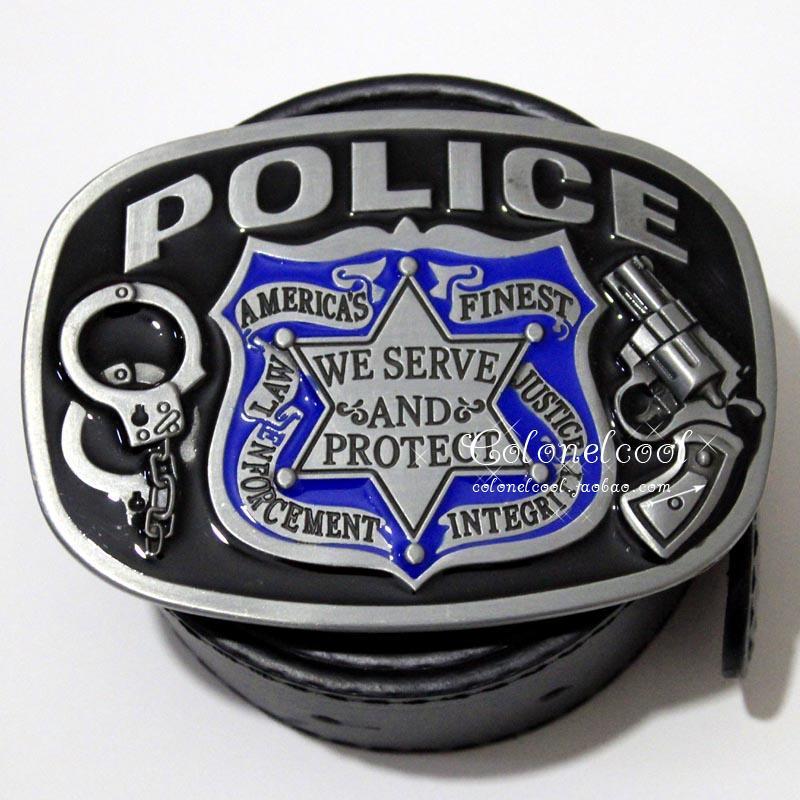 Black Shield Police Police Shield Badge