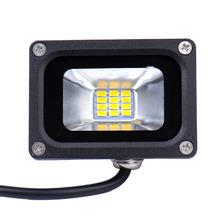 Heißer Verkauf Mini 10 Watt FÜHRTE Flutlicht Wasserdichte Flutlicht Landschaft Beleuchtung Lampe Warmweiß IP65 Hohe Lichtausbeute(China (Mainland))