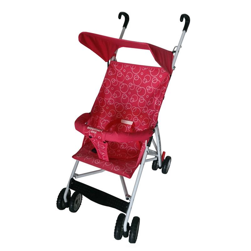 Здесь можно купить  New Design Portable Ultra-light Folding Trolley Baby Stroller Solid Color Circle Pattern Shading Umbrella Stroller for Summer  Детские товары