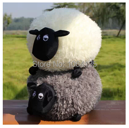 Free Shipping Shaun The Sheep Doll Sean Sheep Plush Toys Baby Large Toy Pillow Monuments Doll Gift(China (Mainland))
