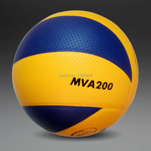Hot sale Brand size 5 PU volleyball official match MVA200 volleyballs indoor training competition volleyball ball Free shipping(China (Mainland))