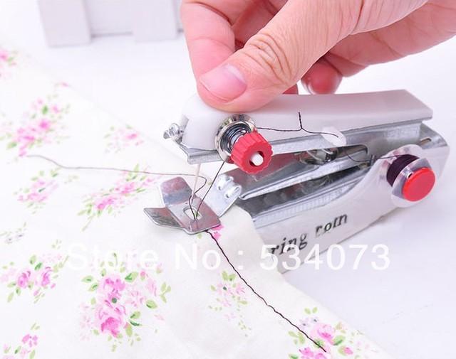 Tascabile macchina per cucire manuale mini macchina per - Mobili per macchine da cucire ...