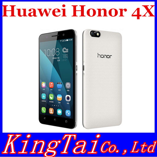 New Original Huawei Honor 4X FDD LTE WCDMA Qualcomm MSM8916 Quad Core 5.5 Inch 1280X720P IPS 2GB RAM 13.0MP Android 4.4 honor 4x(China (Mainland))