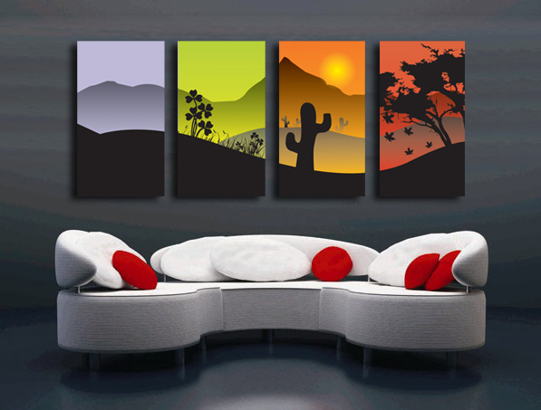 Buy peinture moderne design decoration for Peinture decorative murale