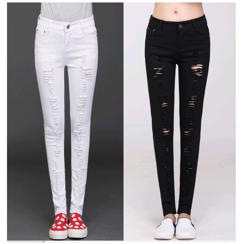 Popular White Jeans Womens Designer-Buy Cheap White Jeans Womens ...