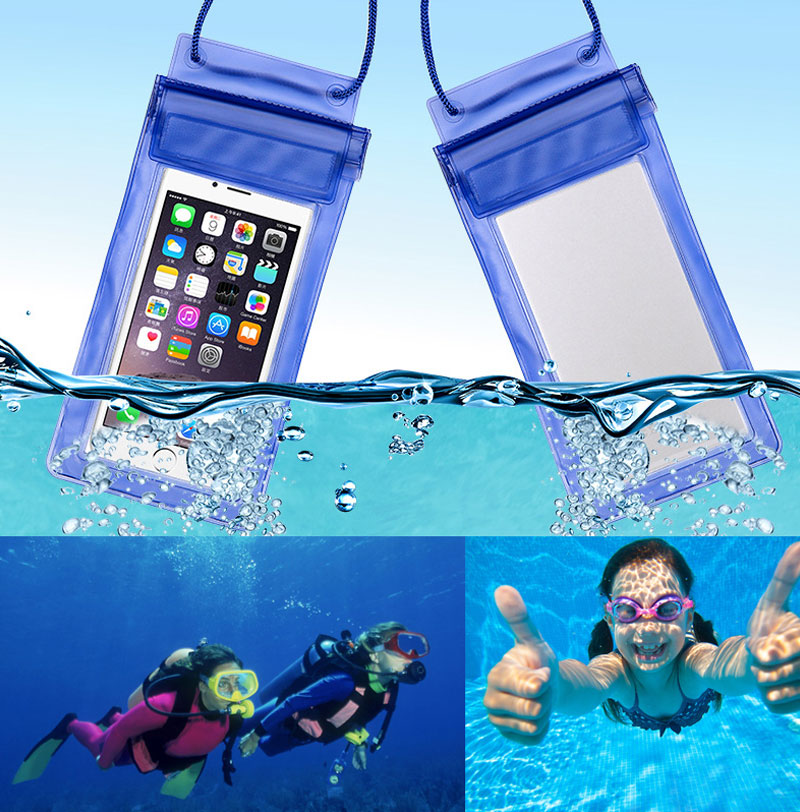 Sealed Waterproof Bag Case Pouch Phone cases for iPhone 6 6S 6 Plus 5S SE 5C 5 4S Samsung Galaxy S6/S5/S4/ Samsung Note 2(China (Mainland))