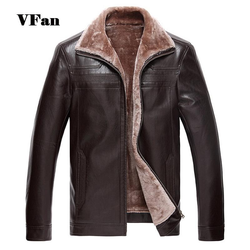 2015 Winter New Men Pu Leather Coat Men s Casual Brand Jacket Men s Faux Fur