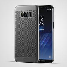 Buy Luxury brand ultra thin New grid back cover samsung galaxy s8 case s8 plus original accessories for $5.88 in AliExpress store