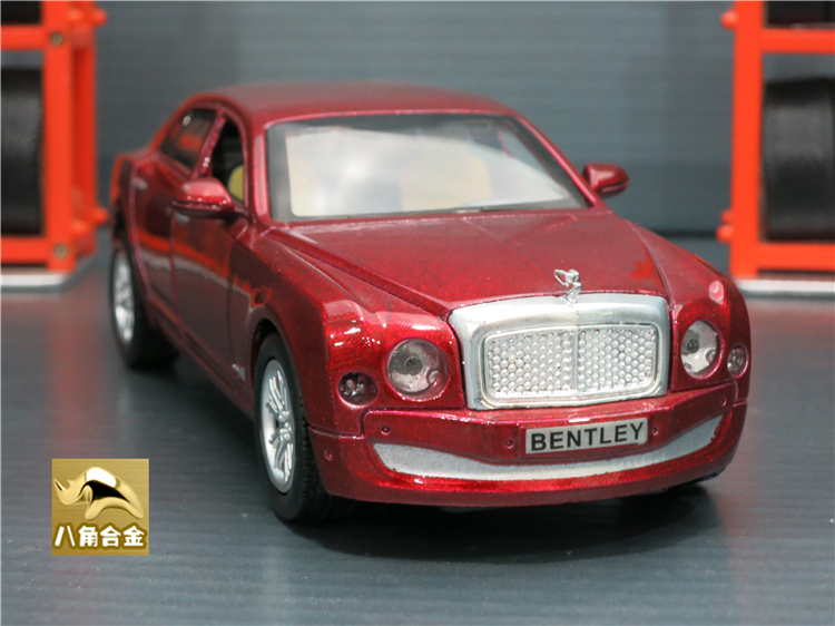 15cm Length Models Car Bentley Mulsanne Diecast Coche Modelo Toys With Pull Back Function/Music/Light For Children Toys As Gift(China (Mainland))