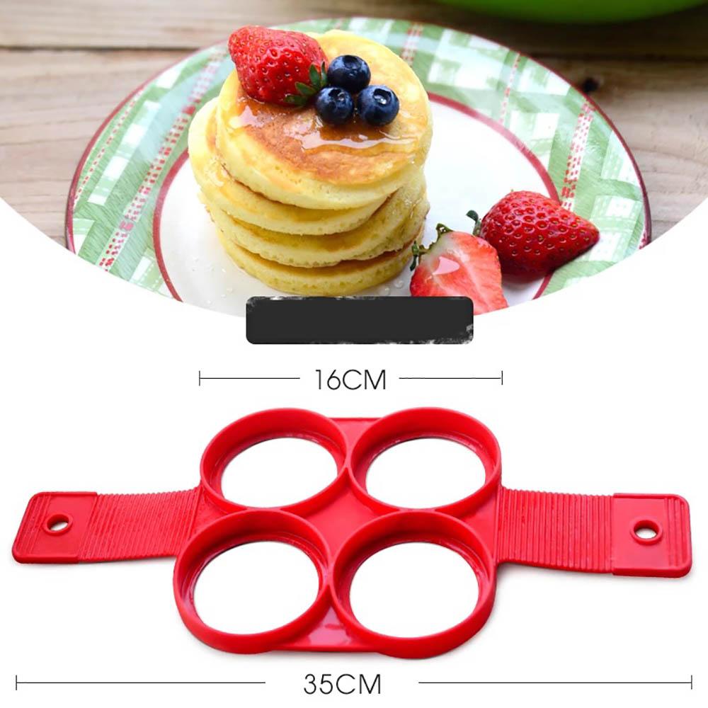 2017 new  Nonstick Pancake Maker Ring Egg Dropshipping   Maker Perfect Pancakes Easy cake model baking tools
