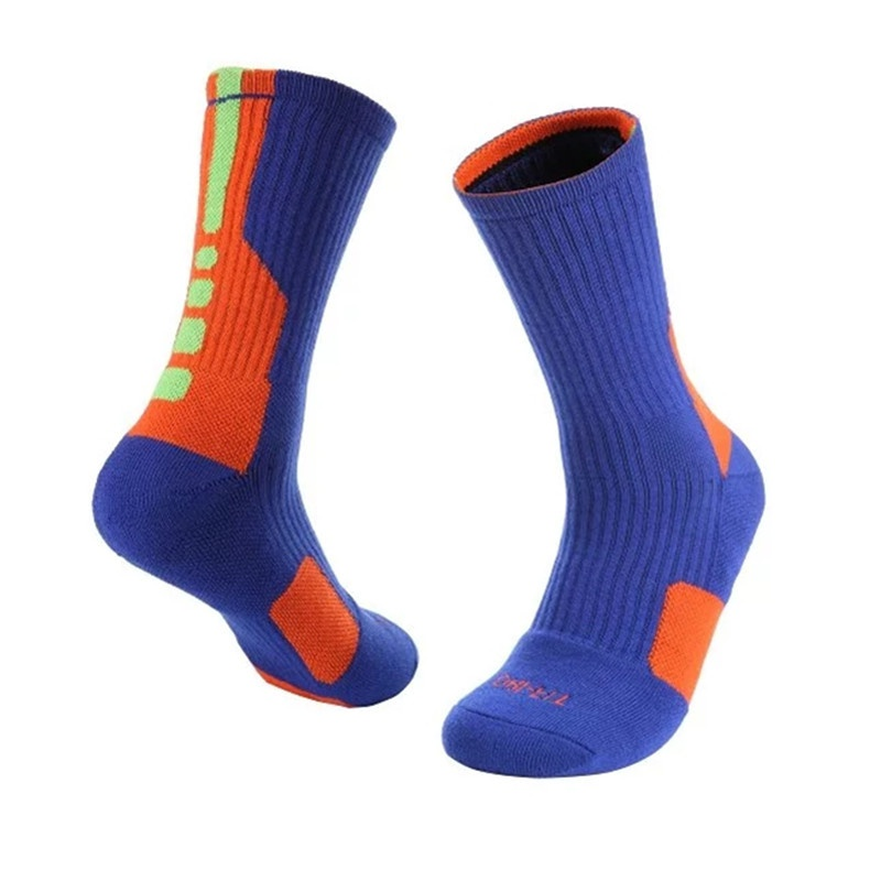 1 Pair Men Warm Socks Basketball Sports Anti Slip Socks Boy Long Socks(China (Mainland))