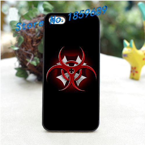 umbrella corp corporation fashion cover case for iphone 4 4s 5 5s 5c for 6 & 6 plus *a942(China (Mainland))