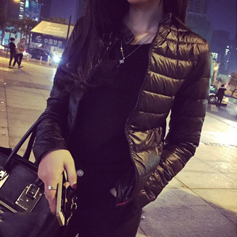 2016 winter& spring women in Europe and America a thin short section of cultivating outwear cotton padded warm jacket outwear(China (Mainland))