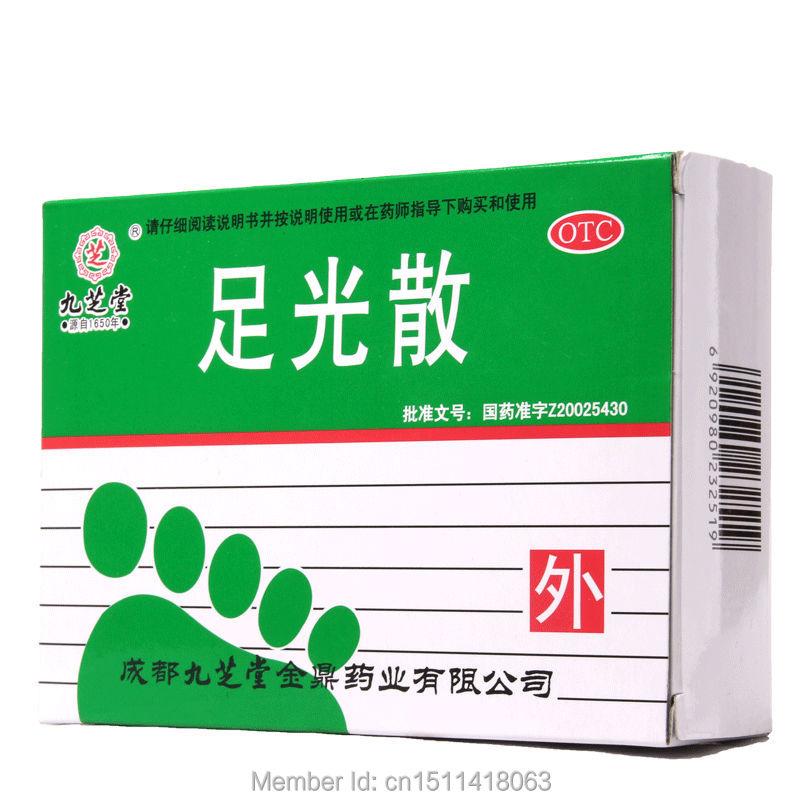Jiuzhitang zuguangsan Treat athlete's foot Brothers tinea Treatment of foot itch Skin fungus(China (Mainland))