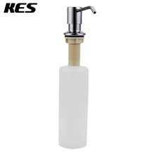 KES PSD1/PSD1-2 Lotion/Soap Dispenser with 18-8 Stainless Steel Pump and PP Bottle, Polished/Brushed(China (Mainland))