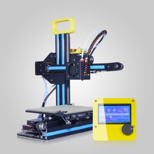 Afinibot  Latest Technology Mini 3d printer DIY kit  high Efficiency high precision Portable 3d Printing Free shipping