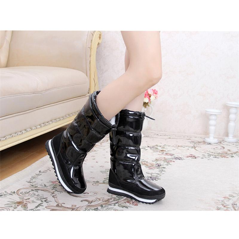 Global Hot Sale 100,000 Pairs Winter Snow Boots New 2016 Brand Waterproof Shoes Woman,Platform Boots Plush #DQL72(China (Mainland))