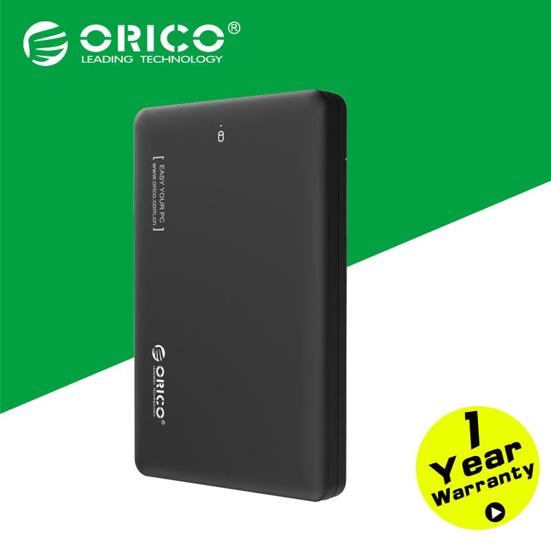 ORICO 2599US3-BK Sata to USB 3.0 HDD Case Tool Free 2.5 HDD Enclosure for Notebook Desktop PC (Not including HDD)(China (Mainland))
