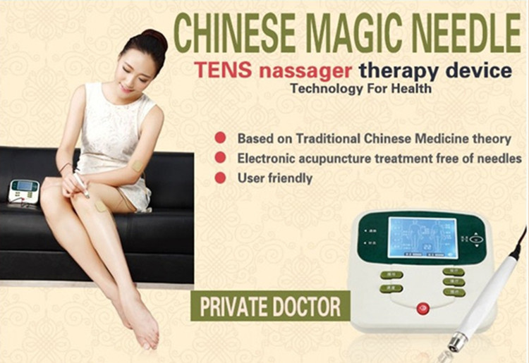 electric body massager with pad reflexology foot massager loss weight electric body massager hand held physical therapy device(China (Mainland))