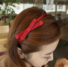 Бесплатная доставка мода прекрасный сладкий бантом волос группа галстук-бабочка оптовая продажа аксессуары для волос женская любимый