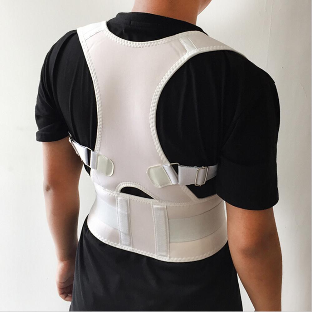 2016 Newest Breathable Orthopedic Back Support For Men Professional Back Shoulder Posture Corrector Exercise Back Protect Belt(China (Mainland))