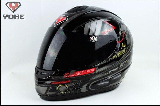 Freeshipping BCM001# Classic Full Face Helmet Winter Helmet Racing Helmet International Version Motorcycle HelmetsN25