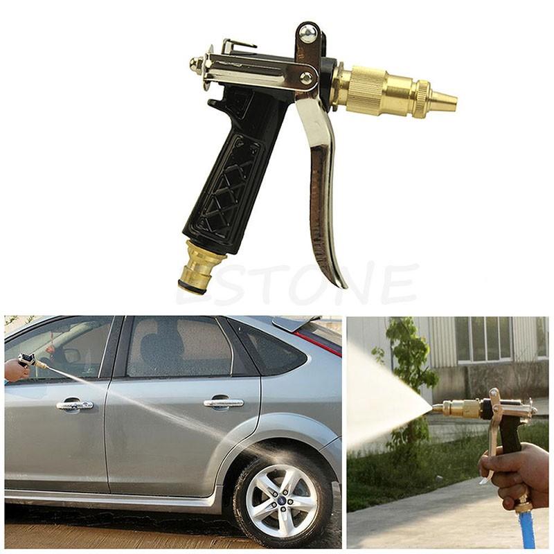 Copper Brass Metal Hose Nozzle Water Gun Sprayer Water High Pressure Guns For Garden Watering/Car/Vehicle Washing(China (Mainland))