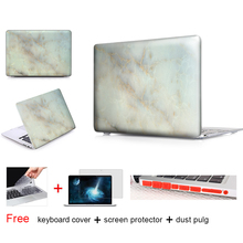 Pale Yellow Marble Laptop Accessories Hard Cases Cover For Macbook Pro 13 Case Pro 13 15 Retina Hp Laptop Protector Shell Skin