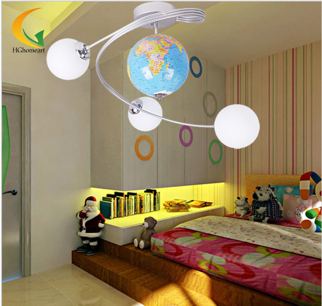 Hghomeart lights ceiling boy children bedroom ceiling for Kids ceiling lights for bedroom