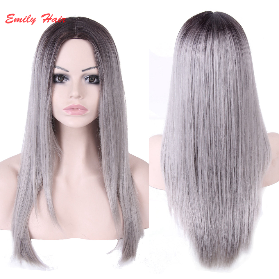 Cheap Grey Hair Wigs 94