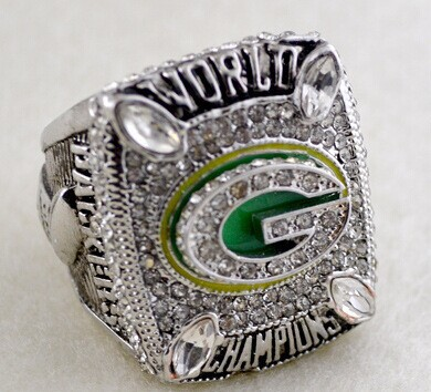 High Qualiity 2010 Green Bay Packers NFL Super Bowl championship rings heavy launch solid replica(China (Mainland))