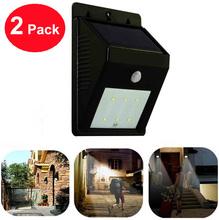 2015 New Green Power Solar 6 Led Motion Sensor Wireless Garden Wall Lamp for Home Use Residential Lighting