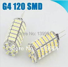 10pcs/lot DC12V G4 9W 120Leds 3528SMD for Led Crytal Lamp(China (Mainland))