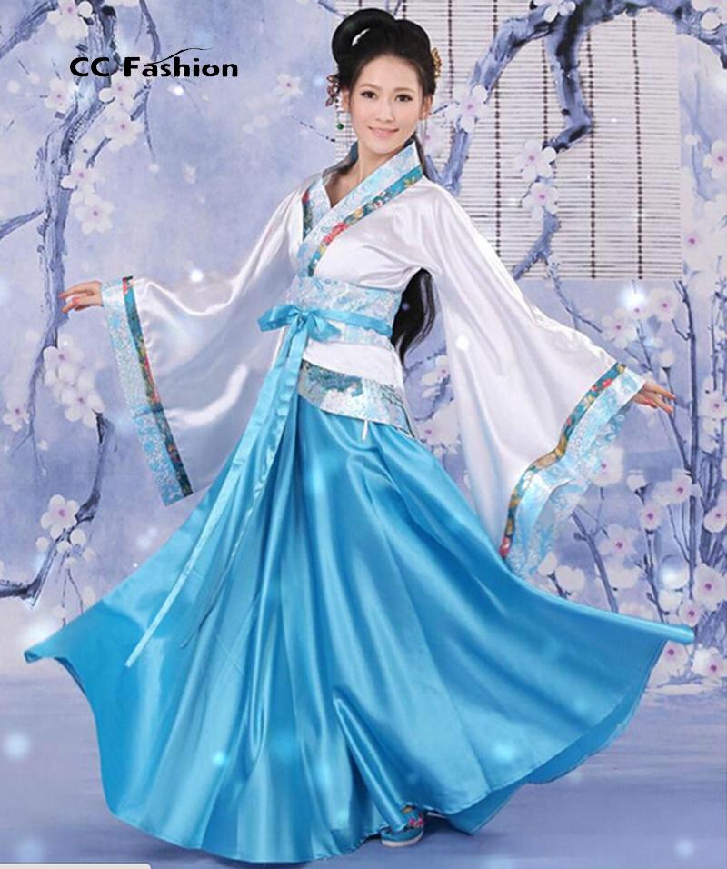 Hanfu Women Chinese Dress China ancient Costume Traditional Hanfu ...
