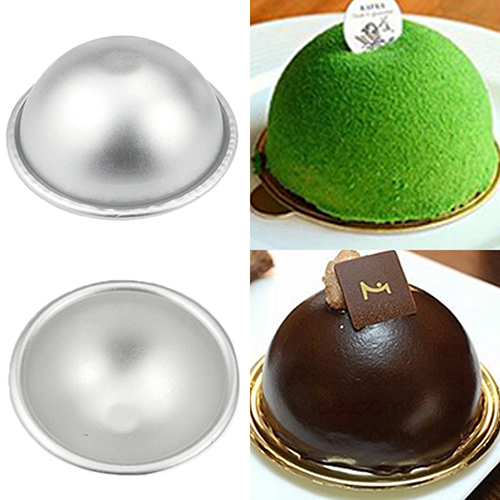 Bath Bomb 3D Aluminum Ball Sphere Cake Pan Sugarcraft Bakeware Decorating Mold 71N6(China (Mainland))