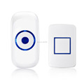 White Color Digital Wireless Doorbell 100M Remote Control Door Bell for 1 Door 110V 220V US