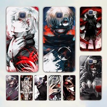 Buy Japenese anime Tokyo Ghoul Kaneki Ken design hard transparent Case Samsung Galaxy A7 A5 2017 A8 A9 A3 A5 2016 for $1.50 in AliExpress store