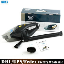 DHL/Fedex/UPS 50pcs/lot Car Super Cyclone Vacuum Cleaner Super Suction Wet And Dry Dual Use Vacuum Cleaner(China (Mainland))
