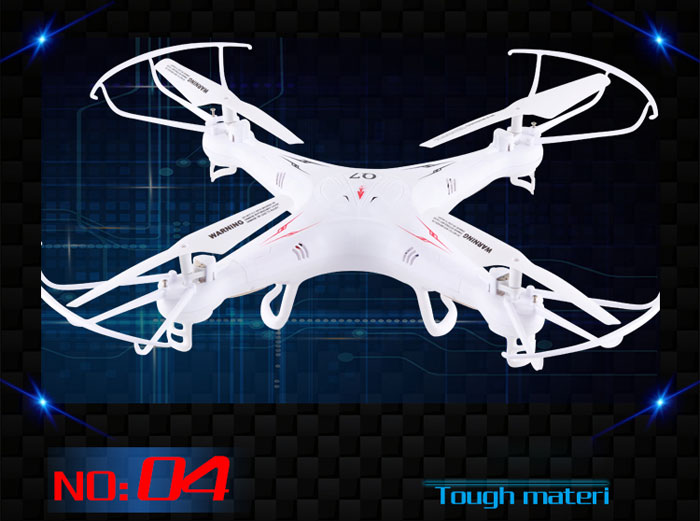 Free shipping Q7 FY326 2.4G 6-Axis Gyro 4CH UFO RC Drone helicopter 360 Degree Rollover Dron quadcopter remote control toys
