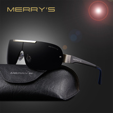 MERRY'S 2016 Classic Polarized Sunglasses Men Brand Designer HD Goggle Men's Integrated Eyewear Sun glasses UV400 S'8616(China (Mainland))