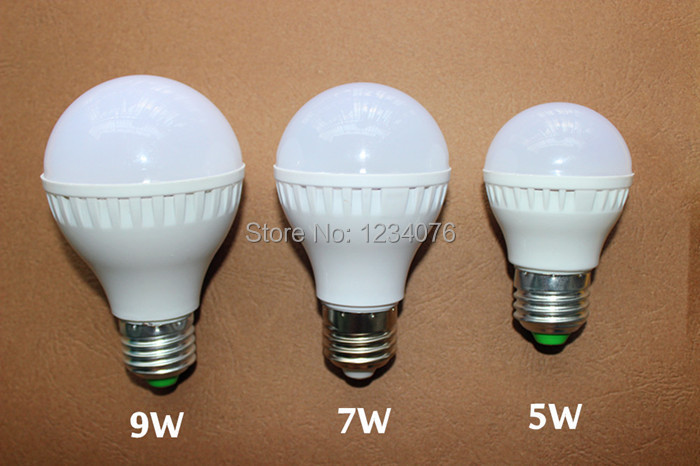 wholesale Led Bulb E27 E14 B22 2835 SMD 5W 7W 9W 12W 15W 25W 50W LED Lamps 110V 220V Light Bulb Home Led Spotlight Lamps(China (Mainland))