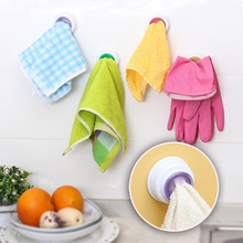 4 pcs/lot Creative kitchen towel clip holder(China (Mainland))
