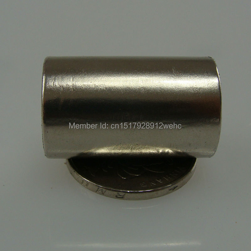 10PCS cylinder D10*30MM pull force 4KG strong power sintered neodymium magnet ndfeb permanent rare earth magnetic fasterners(China (Mainland))