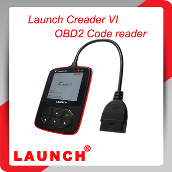 Promotion 2014 100% original Online-Update Color screen Launch Creader 6 OBD2 Code reader, Launch creader VI with best price