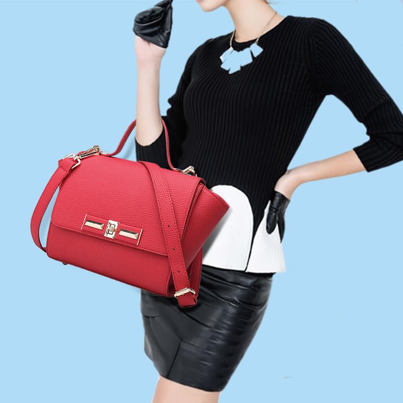 Здесь можно купить   summer styles Litchi pattern wing shoulder slung bags bat bags swing baodan handbag bag  Камера и Сумки