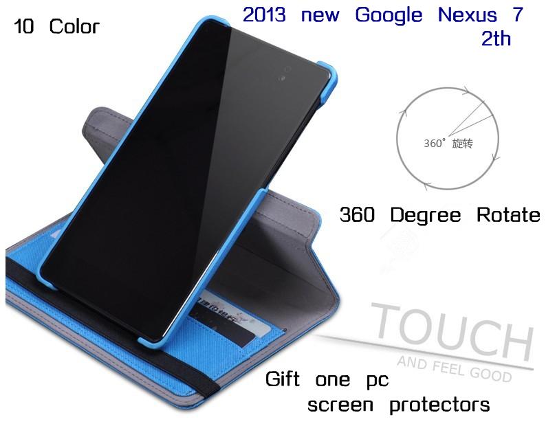 Aliexpress.com : Buy Cowboy Grain Wallet Design Nexus 7 ...
