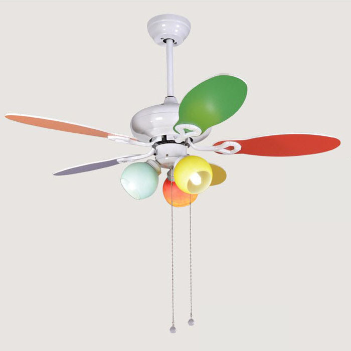 Children Cute Cute Style Fan Lights Ceiling Fan Light
